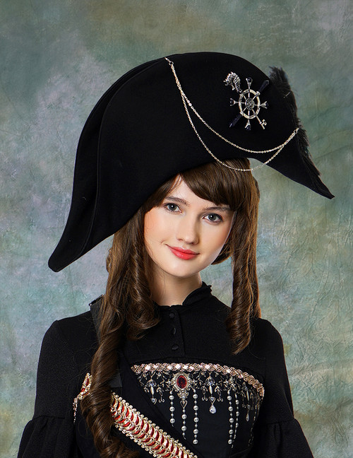 Model View (Black Version) dress DR00191 blouse TP00150