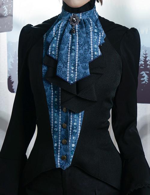 Model Show (Black+Dark Blue Ver.) (blouse underneath: TP00086N)