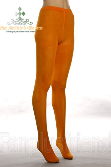 Basic Solid Color Leggings Thick Tights*Orange