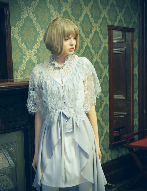 Model Show (Light Grey Ver.) (silk dress underneath: S03037)