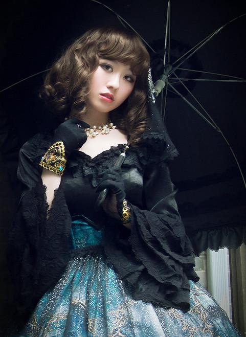 Model Show (Black Ver.) (headdress: P00570, gloves: P00581, skirt set: SP00195+SP00162)