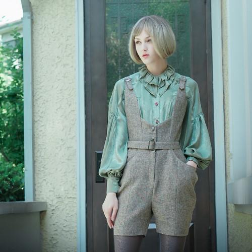 Model Show (Sage Green Ver.) (jumper shorts: SP00190)