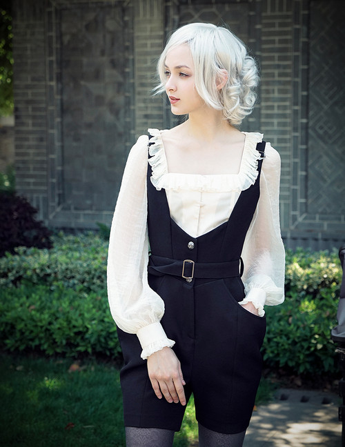 Model Show (Black Ver.) (blouse: TP00165)