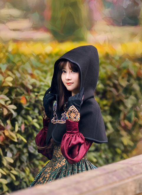 Model Show (Black Ver.) (dress: DR00239, blouse: TP00170, gloves: P00581)