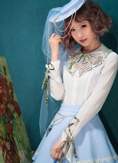 Model Show (hat: P00645, skirt: SP00197, petticoat: UN00026)