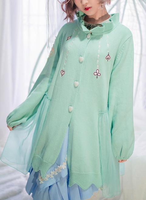 Model Show (blouse underneath: TP00173, skirt: SP00197)