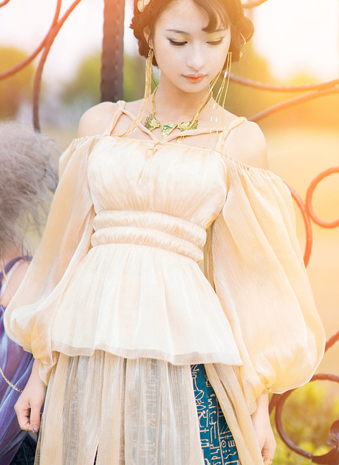 Model Show (Light Gold Ver.) (skirt: SP00201)
