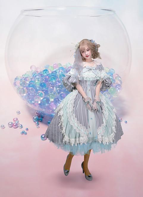 Creative Model Show (Baby Blue Ver.) (headdress: P00651, dress: DR00249)