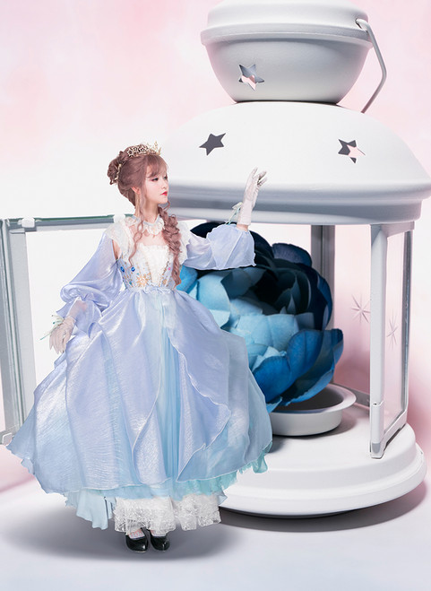 Creative Model Show (Baby Blue Ver.) (dress: DR00250)