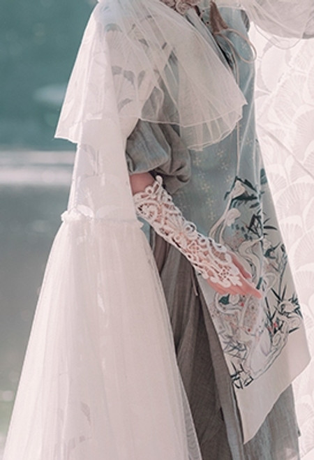 Model Show (dress: DR00255, skirt underneath: SP00203)