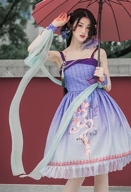 Model Show (dress set: DR00254, hairpin set: P00655, petticoat: UN00019)