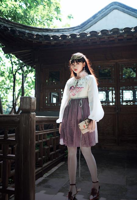 Model Show (blouse underneath: TP00179)