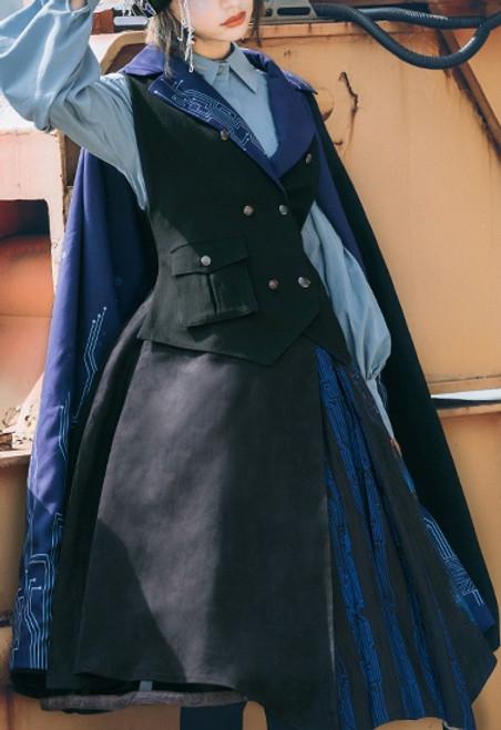 Model Show (blouse: TP00181, dress: DR00256, petticoat: UN00028)