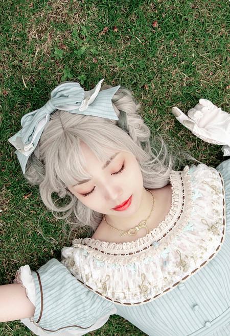 Model Show (Pale Mint Stripe Ver.) (dress: DR00262)