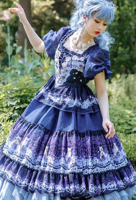 Model Show (Dark Blue Ver.) (underskirt: UN00030, petticoat underneath: UN00028)