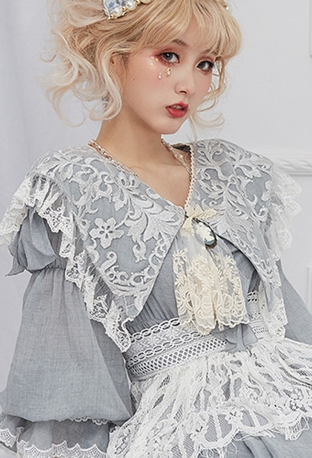 Model Show (Light Grey Mixed Color Crepe Cotton Ver.) (dress: DR00266)