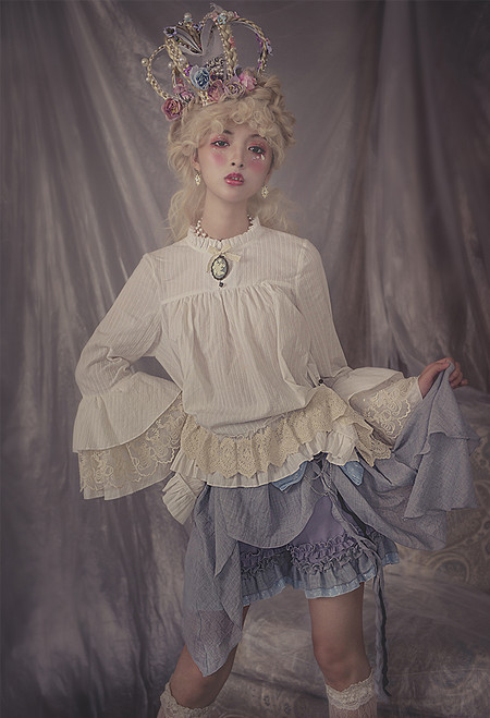 Model Show (Lilac + Light Grey Ver.) (blouse: TP00184)