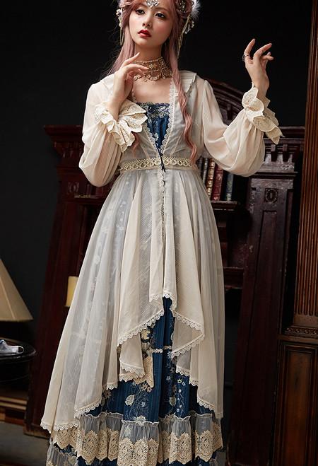 Model Show (floral maxi dress: DR00269)