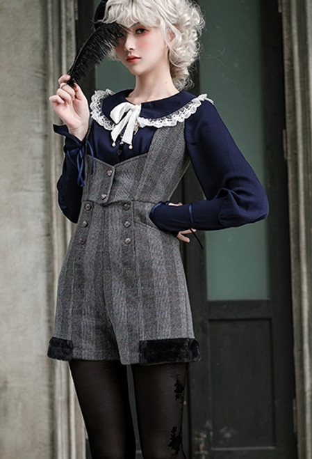 Model Show (Grey Check Ver.) (blouse: TP00186)