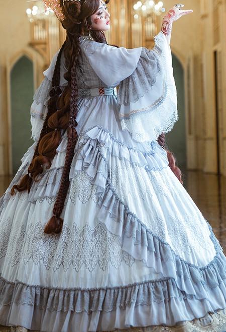 Model Show (Light Grey Ver.) (dress: DR00276 with optional underskirt UN00032 & gift petticoat)