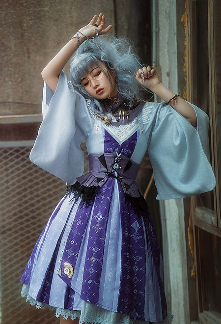Model Show (Purple Tea Ver.) (jacket: CT00323, JSK: DR00277, corset: Y00046)