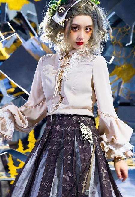 Model Show (Milk Tea Ver.) (hair bow: P00701, skirt: SP00218)
