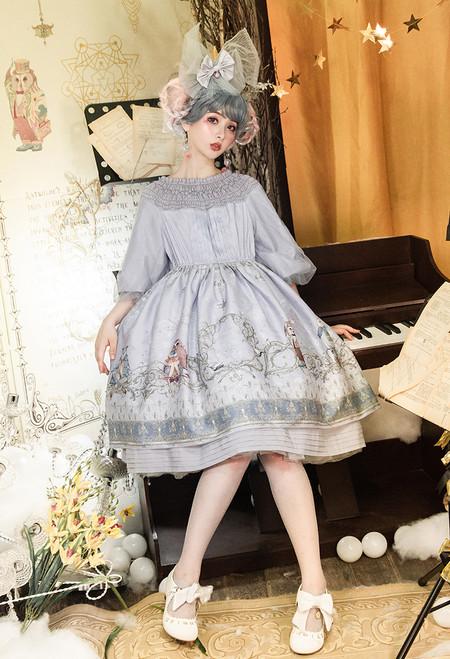 Model Show (Lavender Mist Ver.) (headdress: P00711, petticoat: CT00040S)