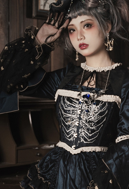 Model Show (Antique Blue Ver.) (dress: DR00286)