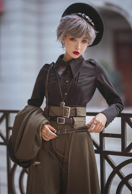 Model Show (Black Ver.) (jacket: CT00262N, breeches: SP00019N, skirt piece: P00705)