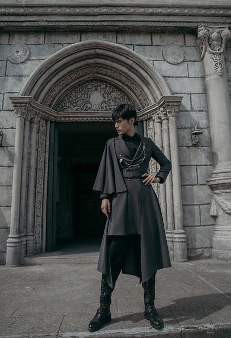 Model Show (Dark Grey Ver.) (shirt: D00024, skirt piece: P00705)