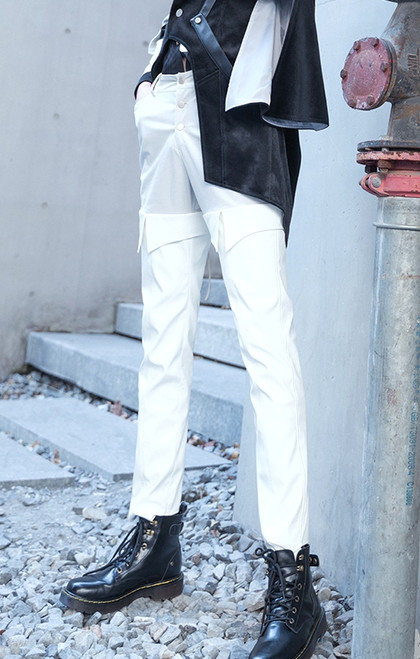 Model Show (Pale Grey + White Ver.) (jacket: CT00329, shirt: TP00139N)