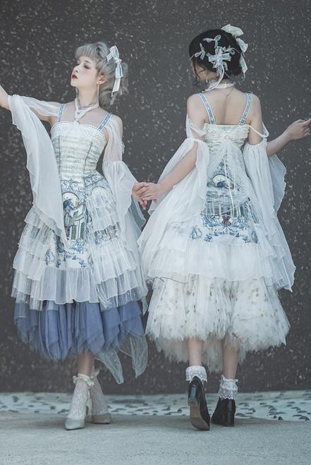 Model Show (Pearl White Ver.) (dress: DR00294, underskirt: UN00030B, UN00030N)