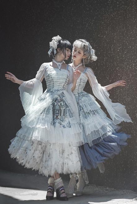 Model Show (Pearl White + White Ver.) (headdress: P00727, underskirt: UN00030B, UN00030N)
