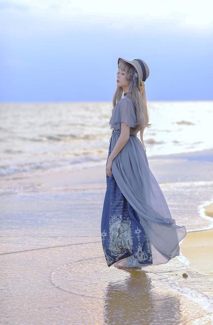 Model Show (Deep Ocean Blue + Grey Ver.) (hat: P00673N)