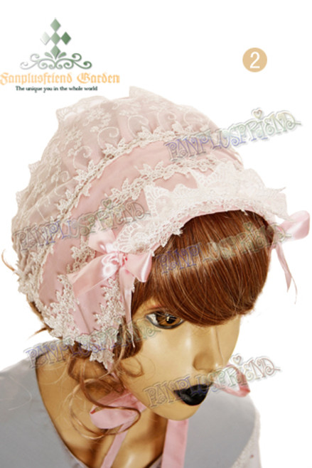 Last Chance: Country Lolita Embroidery Crown Soft Beanie*2color Instant Shipping