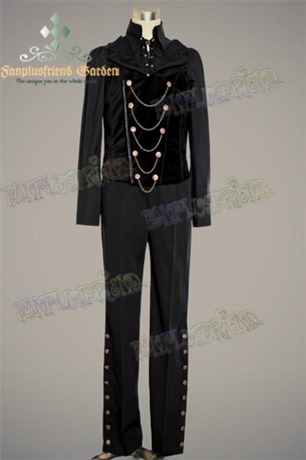 Front View (Man Black Velveteen Ver.) (shirt: TP00125, pants: SP00048)