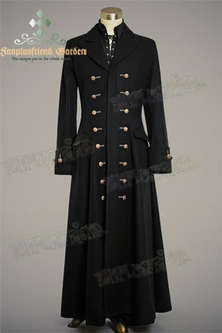 Front View (Black Ver.) (shirt: TP00125, pants: SP00123)