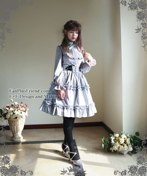 Model Show (Light Grey Ver.) (skirt: SP00154, leggings: P00182)
