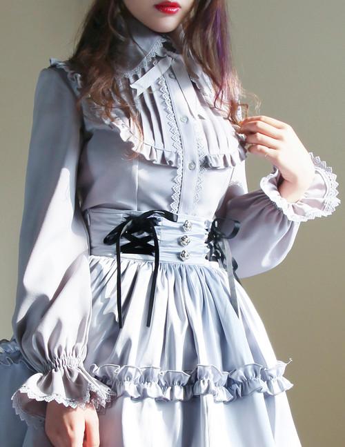 Model Show (Light Grey Ver.) (skirt: SP00154)