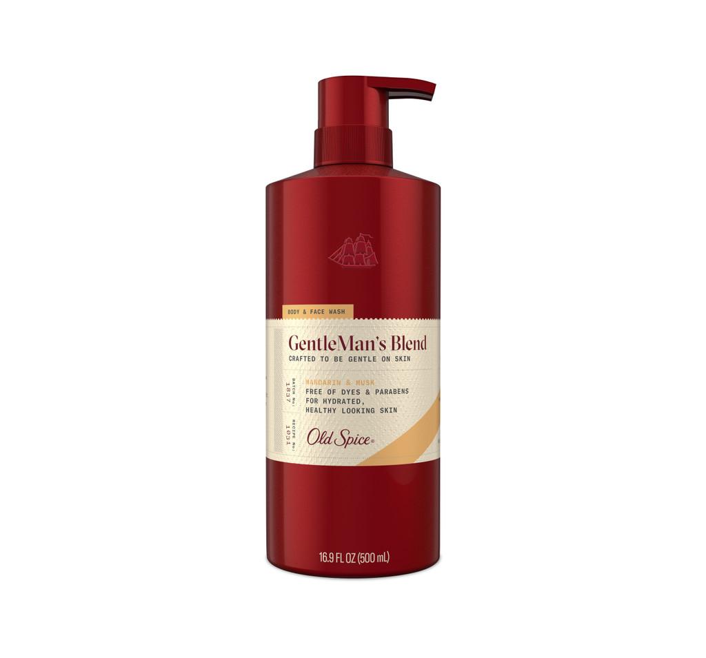 GentleMan's Blend Mandarin & Musk Body & Face Wash