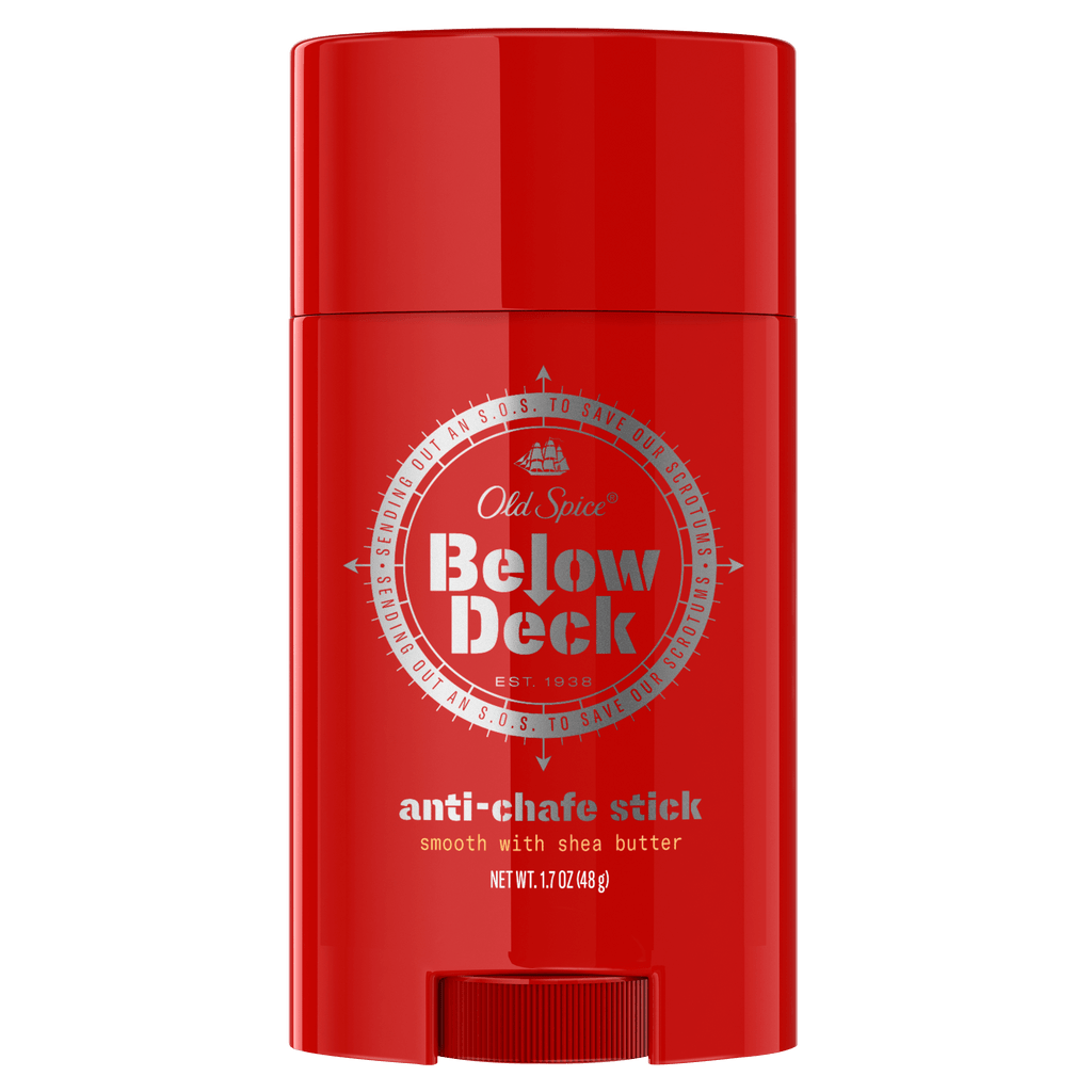 Below Deck Anti-Chafe Stick with Shea Butter