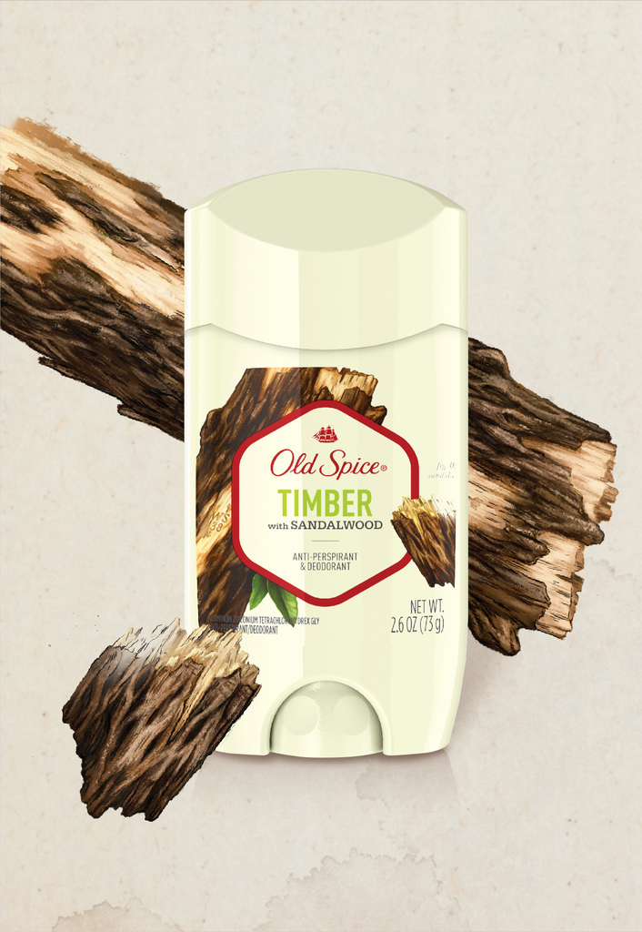 Timber with Sandalwood Antiperspirant