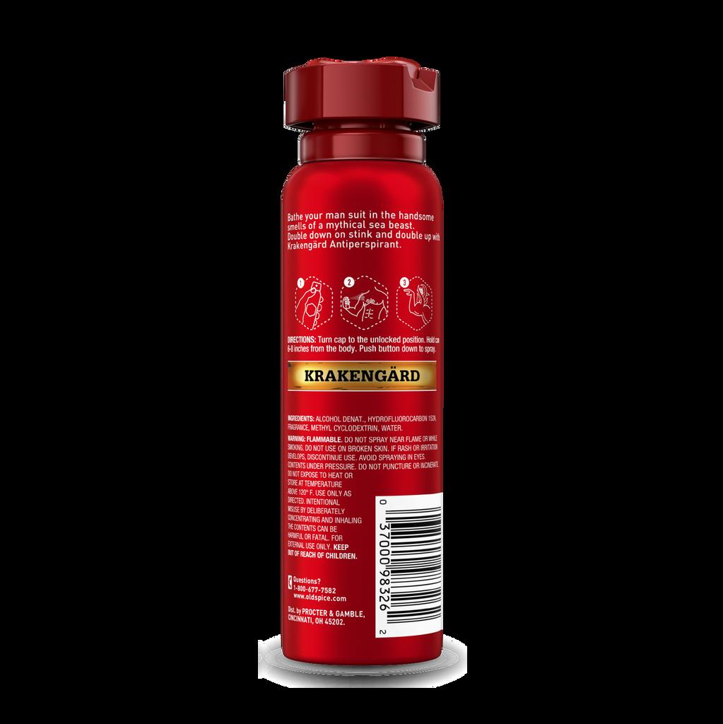 Krakengard wild collection body spray