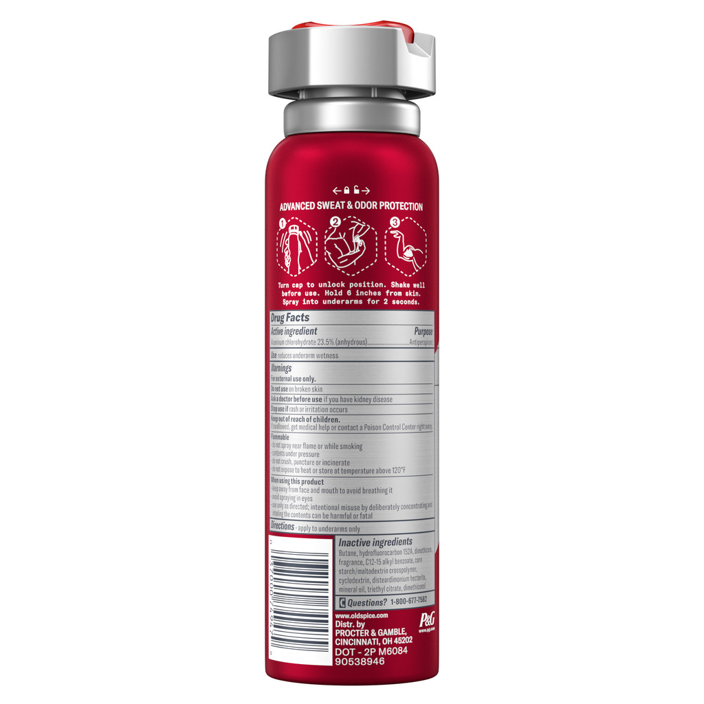 Sweat Defense Dry Spray