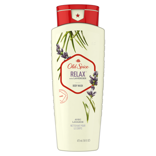 Relax with Lavender Body Wash