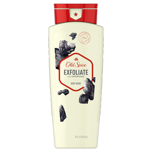 ​Exfoliate with Charcoal Body Wash