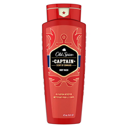 Captain body wash