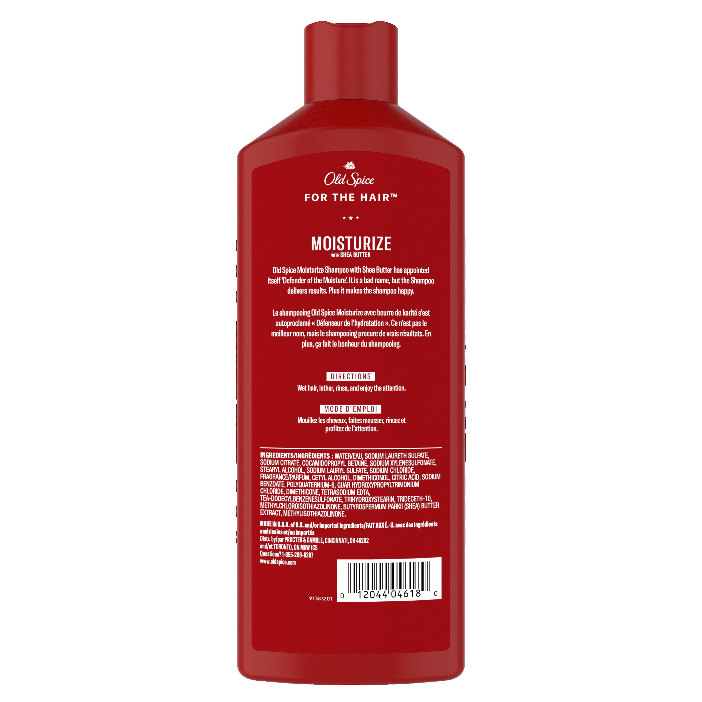 Moisturize with Shea Butter, Shampoo