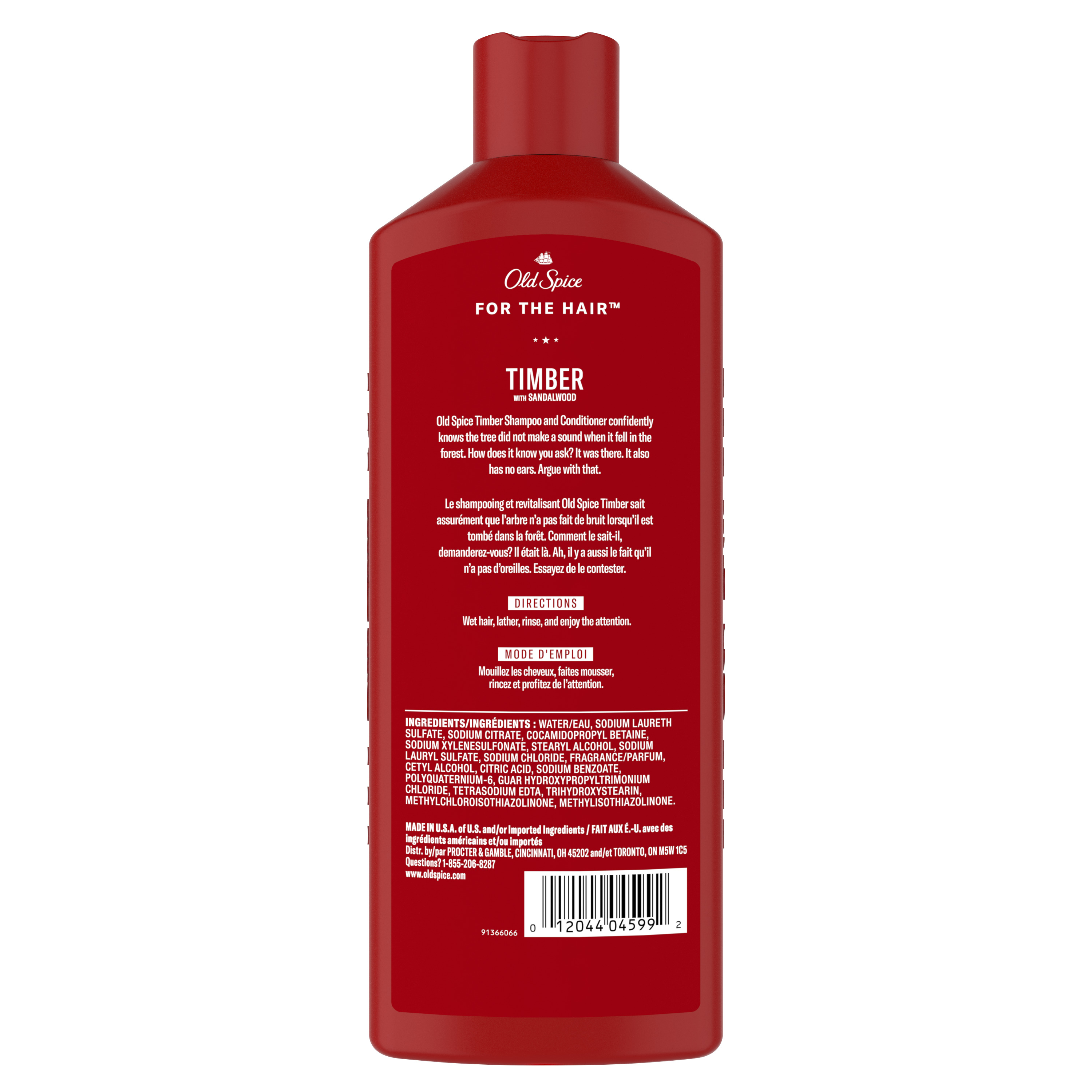 Timber 2in1 Shampoo and Conditioner