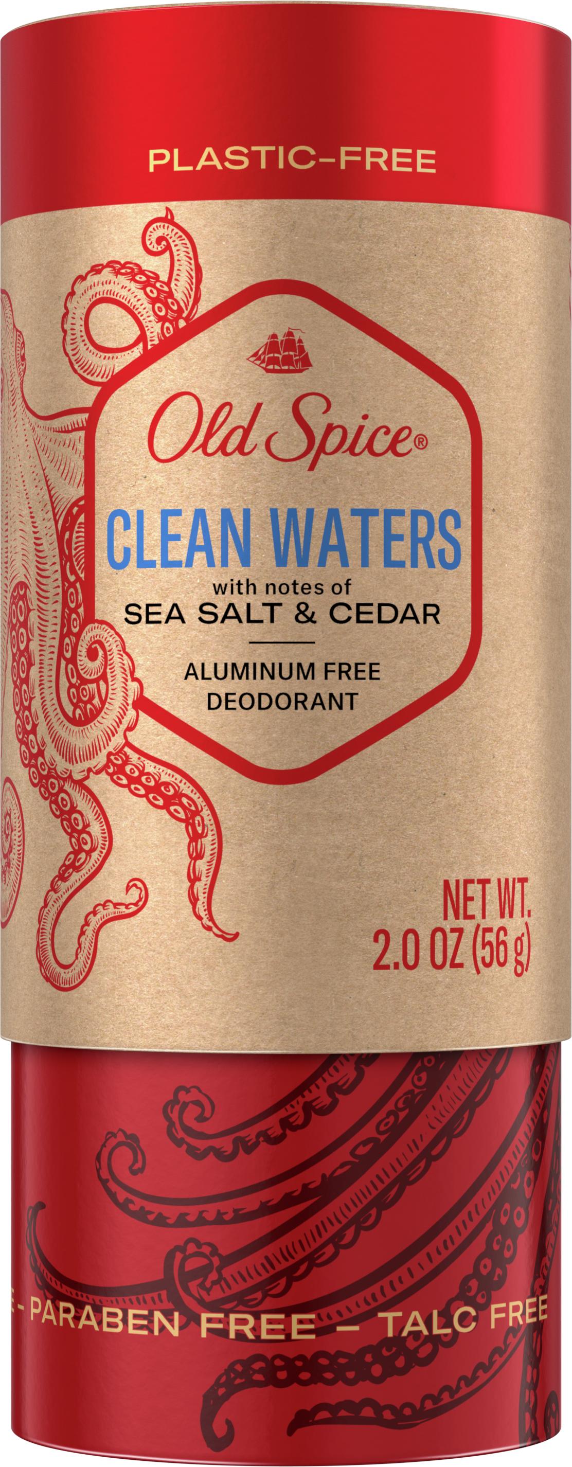 Clean Waters Plastic-Free Aluminum Free Deodorant